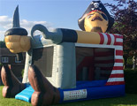Captain Smuggle Bubbles bouncy castle