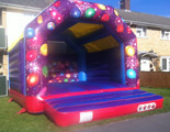 CBeebies bouncy castle