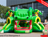 Crocodile Shooting Challenge bouncy castle