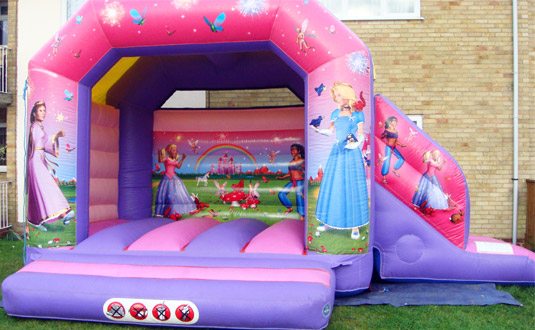 Fairytale Princess bouncy castle