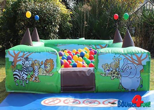 Jungle Theme Ball Pond