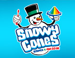 Snowy Cones flavoured ice treats